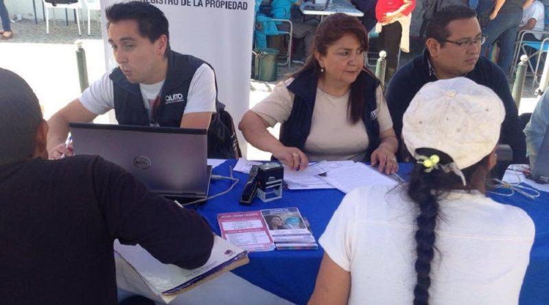 Pobladores de llano chico se asesoraron sobre la for Oficina registro comunidad de madrid