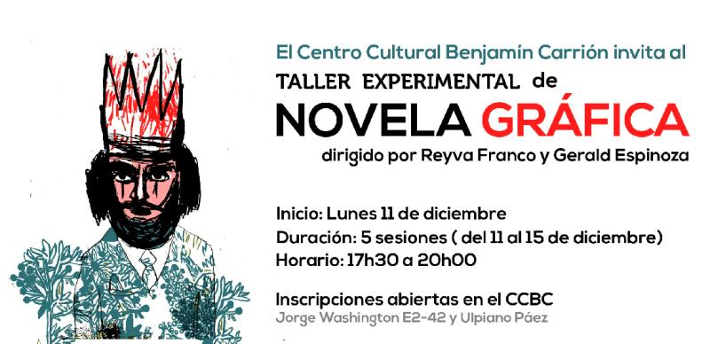 Taller Experimental De Novela Gráfica En Casa Carrión