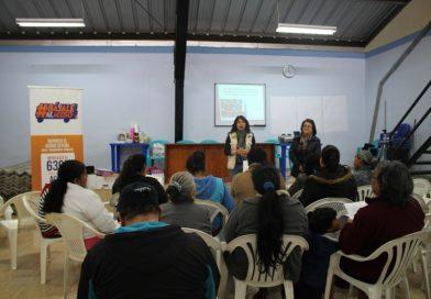 Capacitaciones en derechos humanos y género en el Mercado de Solanda