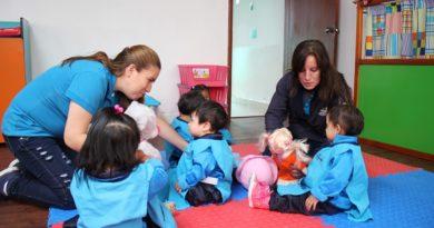 Cuarenta niños en el Guagua Centro San José del Condado son cuidados con amor