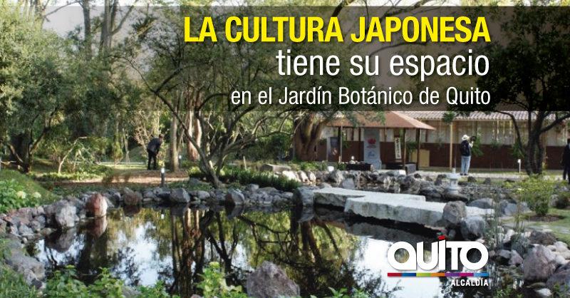 Se inaugur en quito el primer jard n japon s del ecuador for Jardines verticales quito ecuador