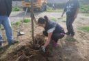 Moradores y estudiantes cuidan el ambiente en Zona Calderón