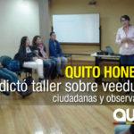Quito Honesto acercó las herramientas de control social a Casas Somos