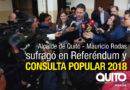 Alcalde Mauricio Rodas ejerció su derecho al voto