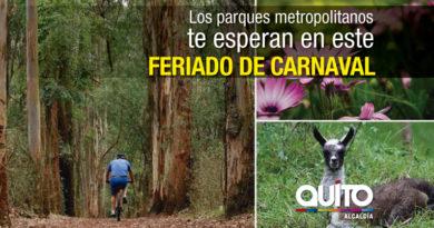Carnaval en Quito para disfrutar de la naturaleza