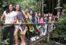 Candidatas a reina rural visitan parroquias de la Mancomunidad del Chocó Andino