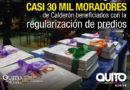 Municipio regularizó 158 barrios en la Zona Calderón