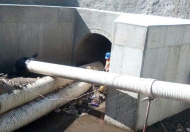 Agua de Quito avanza en la reparación del colector de la quebrada Ortega