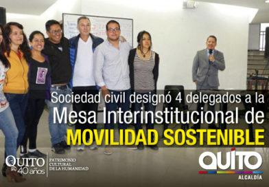 Colectivos afines a la movilidad sostenible designaron sus delegados