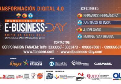 Se realizará el Congreso Transformación Digital 4.0 Ebusiness-Day 2018