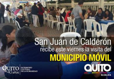 Municipio Móvil atenderá a pobladores de San Juan de Calderón