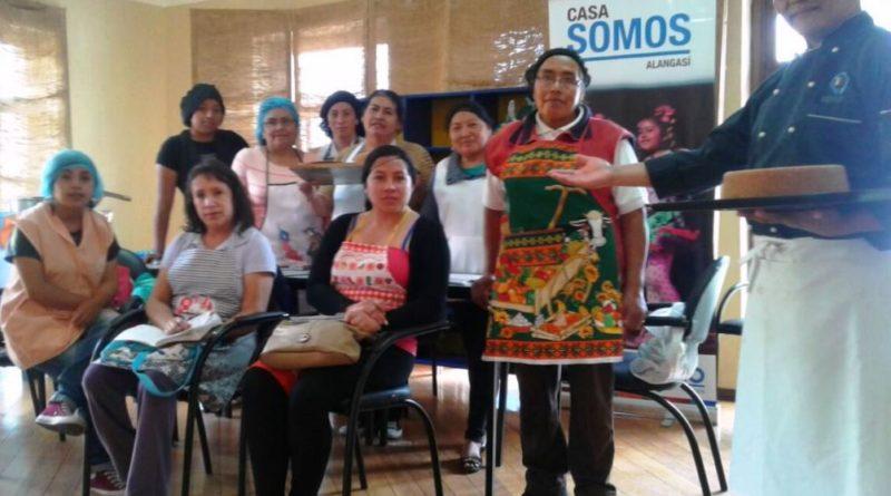 Demostración de alimentación y cocina saludable en Casa Somos ...