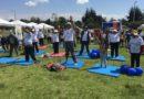 Yoga en el Parque La Armenia