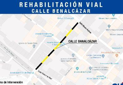 Plan de rehabilitación vial en el Centro Histórico no se detiene