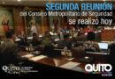 Consejo Metropolitano de Seguridad coordina acciones para brindar seguridad a los quiteños