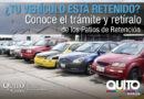 2.600 vehículos están en los patios de retención vehicular