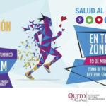 La prevención de la Hipertensión Arterial se fomenta con Caminata y Feria