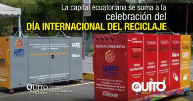 """Quito celebra el """"Día Internacional del Reciclaje"""""""