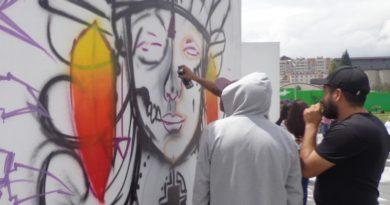 El arte urbano se plasmará en la Plaza Cívica Eloy Alfaro