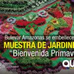 La Primavera, una muestra de jardinería para el Bulevar Amazonas