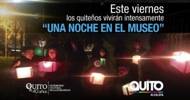 Una noche para descubrir los museos de Quito