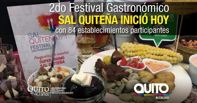 Quito promociona su rica gastronomía