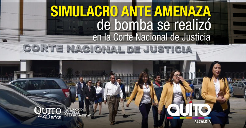 Municipio realizó el séptimo simulacro en el sector financiero