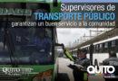 Supervisión responsable y permanente en el transporte público