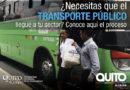 Proceso para la implementación o ampliación de transporte público en su zona