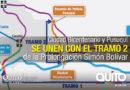 Prolongación Simón Bolívar conecta Tajamar con Pusuquí en 3 minutos