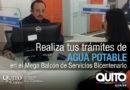 Empresa de Agua Potable atiende en el Mega Balcón de Servicios Bicentenario