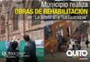 "Alcalde Rodas constató avance de obra en la Basílica Nacional y en ""La Guaragua"""
