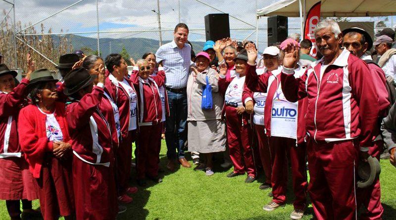 Alcalde Rodas entregó en nuevo complejo  recreacional y deportivo de San José de Minas