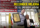 Jubilados municipales homenajearon al Alcalde Rodas