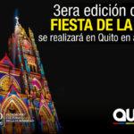 """Quito disfrutará del 8 al 12 de agosto de la """"Fiesta de la Luz 2018"""""""