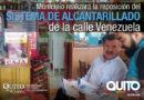 Trabajos a realizarse en la calle Venezuela se socializan