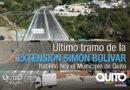 Alcalde Rodas habilitó el puente Villorita que conecta la av. Simón Bolívar con Pusuquí