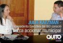 Vicepresidenta ejecutiva del BID reconoce la gestión del Municipio de Quito