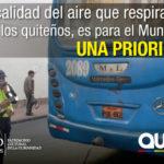 Controles aleatorios de opacidad se cumplen a diario en Quito