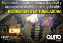 Gobierno Nacional ratificó apoyo en la construcción del Metro de Quito