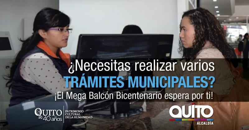 Ciudadanía puede realizar trámites de empresas municipales en Mega Balcón Bicentenario