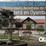 Oyambarillo, sede del Encuentro de Comunas 2018