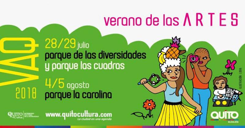 El Verano de las Artes Quito:  una suma de magia, arte y música