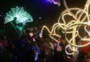 950 mil personas en el cuarto día de la Fiesta de la Luz