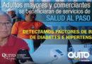 Salud al Paso llega a comerciantes de mercados y adultos mayores