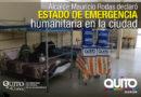 Municipio de Quito activa COE Metropolitano para apoyar a migrantes en vulnerabilidad