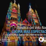 65% de avance en los trabajos de la Basílica del Voto Nacional