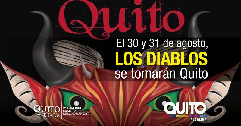 Los diablos se toman Quito