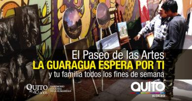 La Guaragua se llena de arte y luces