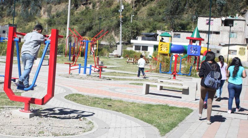 Nuevo Parque Lineal en Chillogallo beneficia a 9 mil familias